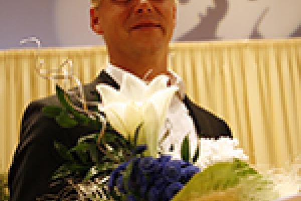II KANSAINVÄLINEN UUNO KLAMI -SÄVELLYSKILPAILU 2008-2009 / Voittaja / Kuva: Heikki Y. Rissanen
