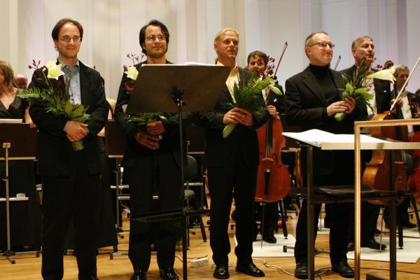 II KANSAINVÄLINEN UUNO KLAMI -SÄVELLYSKILPAILU 2008-2009 / Finalistit / Kuva: Heikki Y. Rissanen